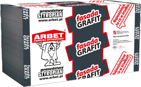 Arbet Styropian FASADA GRAFIT 0,031 19cm