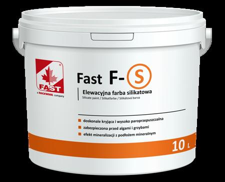 FAST F-S farba silikatowa do elewacji 4L