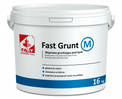 FAST GRUNT M Wyprawa gruntująca pod tynki 16kg