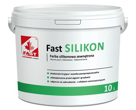 FAST SILIKON farba silikonowa do elewacji 10L
