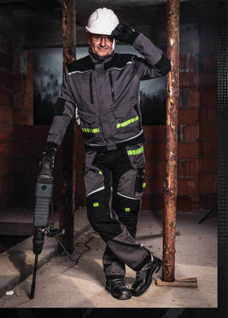 PowerMAX Spodnie robocze monterskie HEAVYLINE
