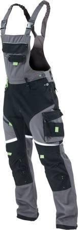 PowerMAX Spodnie robocze ogrodniczki HEAVYLINE