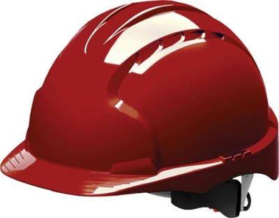 Stalco Hełm przemysłowy EVO3 czerwony