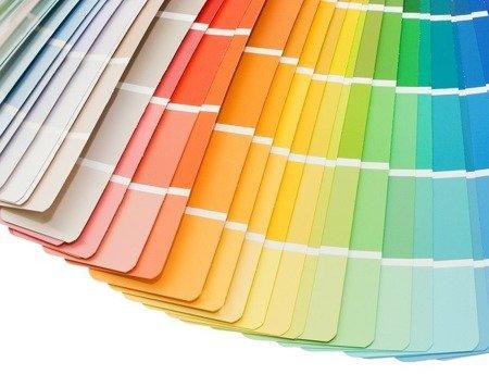 Usługa barwienia farb tynków